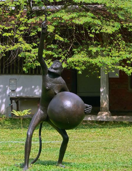 NS Harsha's Matter - Bronze sculpture
