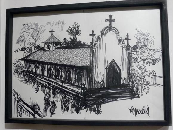 K M Vasudevan Namboodiri's sketches 'Vara/Thira'