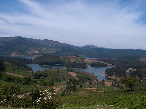 Lakes and tea estates