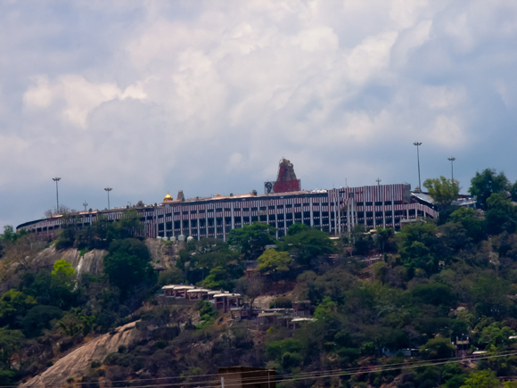 Murugan Temple, Palani from the Palani Bus Station.