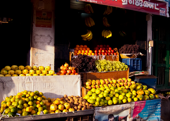 Fruit Stall, Madurai