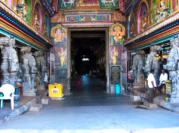 Ashtalakshmi Mandapam (Eight Lakshmi / Goddess of Wealth) Hall, Meenakshi Amman Temple