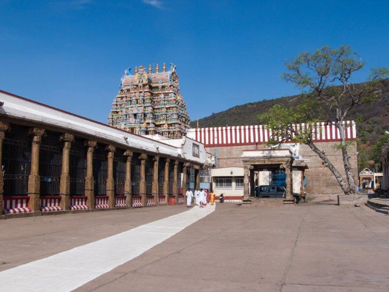 Inside Alagar Kovil