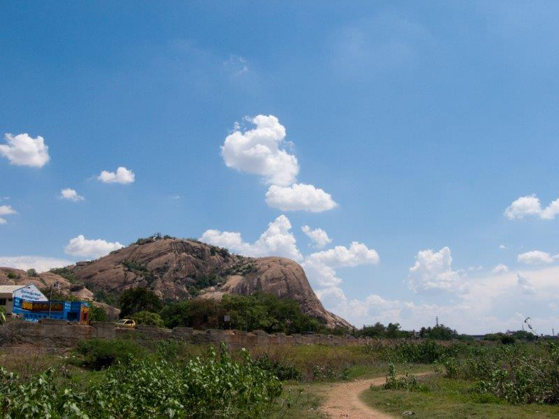 Panoram of Tiruppuramkunram Hill
