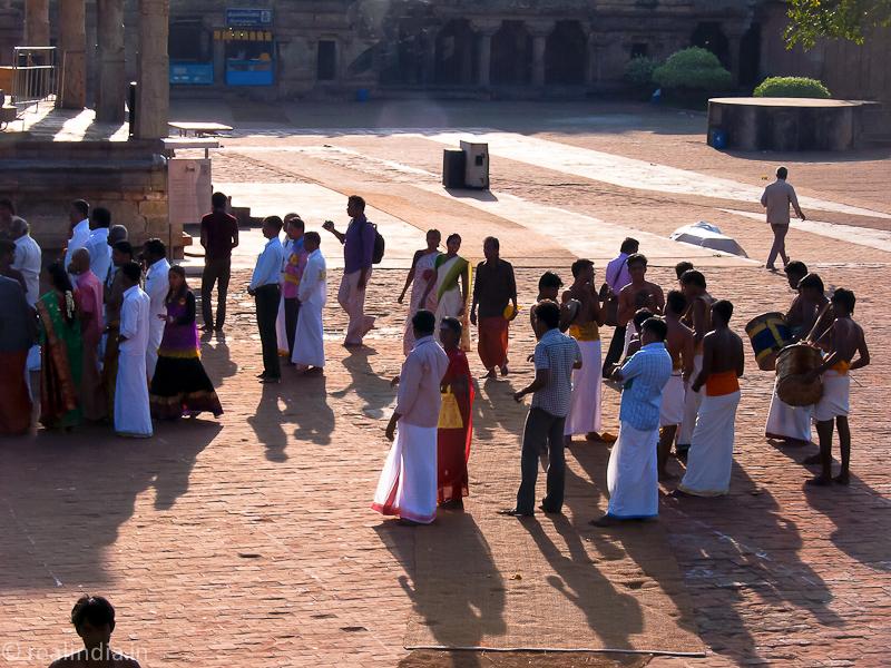 Musicians, Festival Flag Hoisting, Brihadisvara Temple, Thanjavur