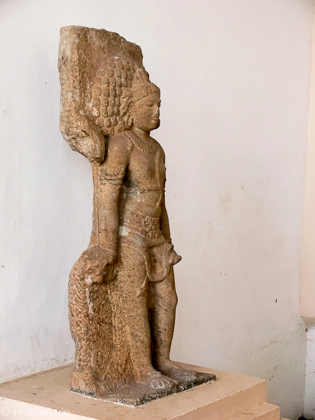 Virabhadra (Siva in heroic stance) Provenance: Senthalai Period: Late Chola 11th Century CE