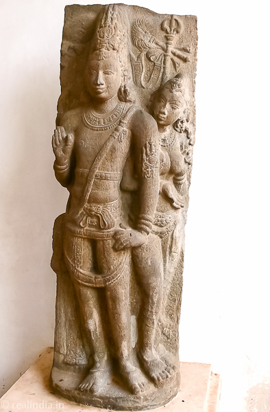 Siva and Parvathy Provenance: Tiruvalanjuli Period: Early Chola 9th Century CE