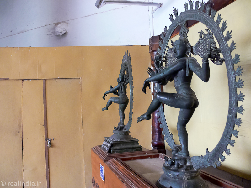 Some of the magnificent bronze sculptures of Nataraja, the Lord of Dance