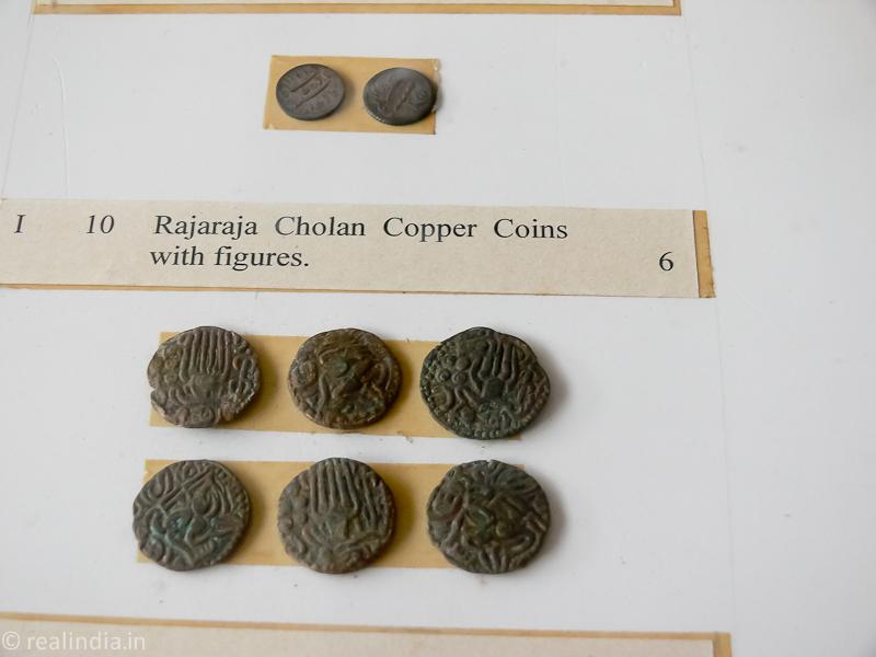 Rare Rajaraja Chola's coins