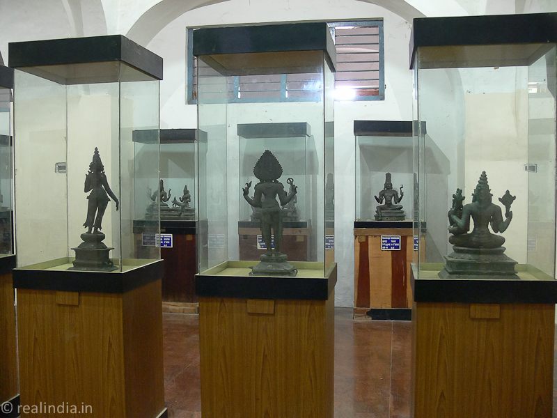 Exhibits, Thanjavur Art Gallery