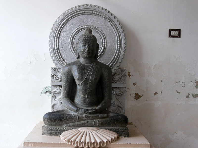 Buddha  Provenance: Madagaram Period: 11th Century CE